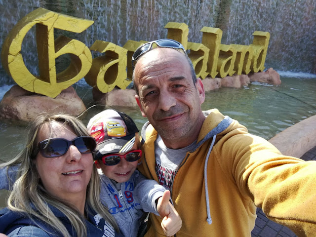 Noi tre di ViaggiamoHg a Gardaland