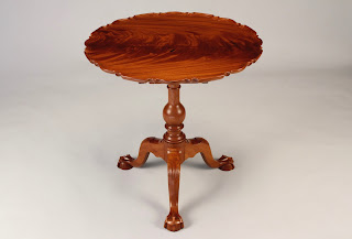 Philadelphia Piecrust Tea Table