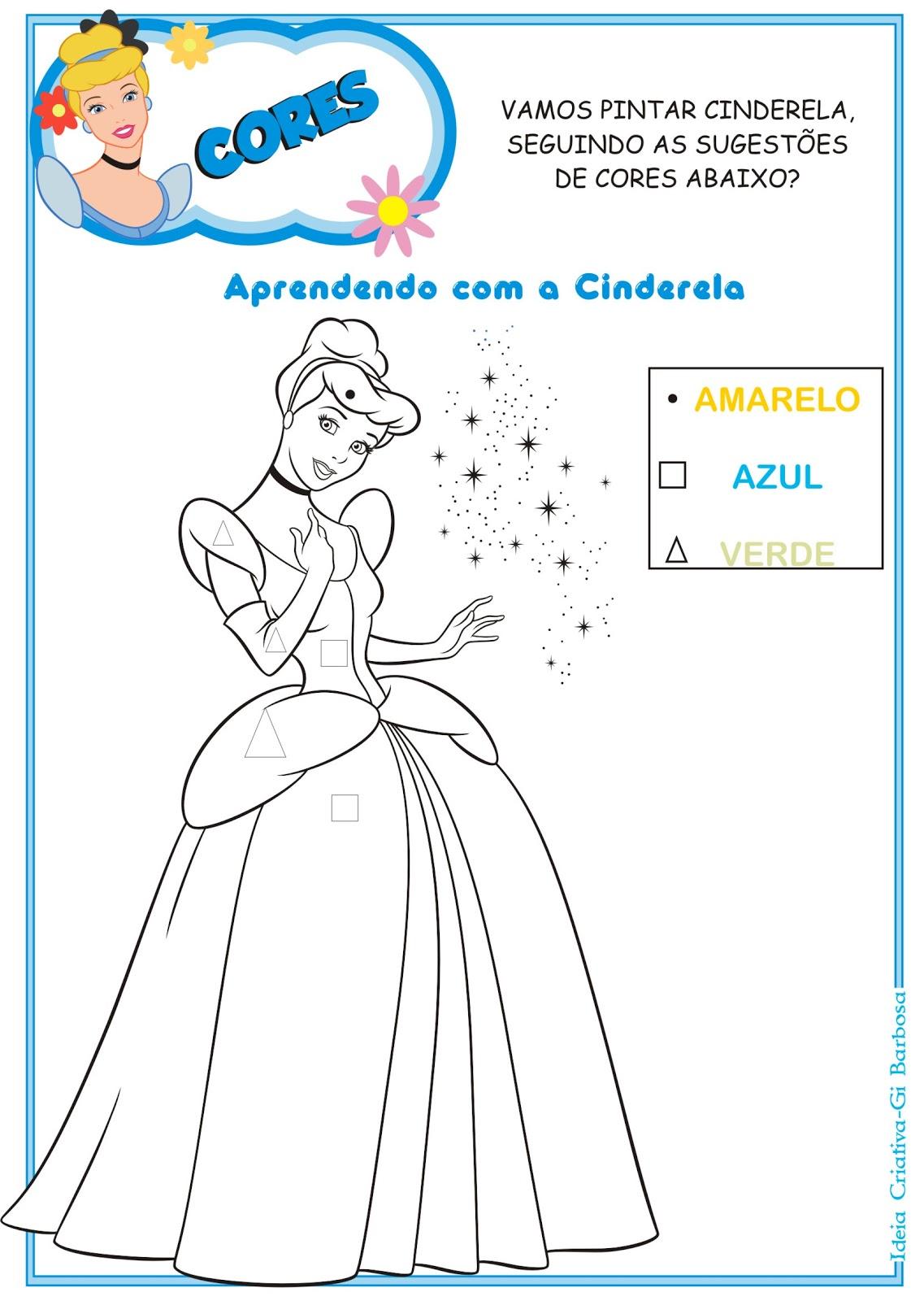 O Blog Das Princesas Atividades Educativas Das Princesas Disney