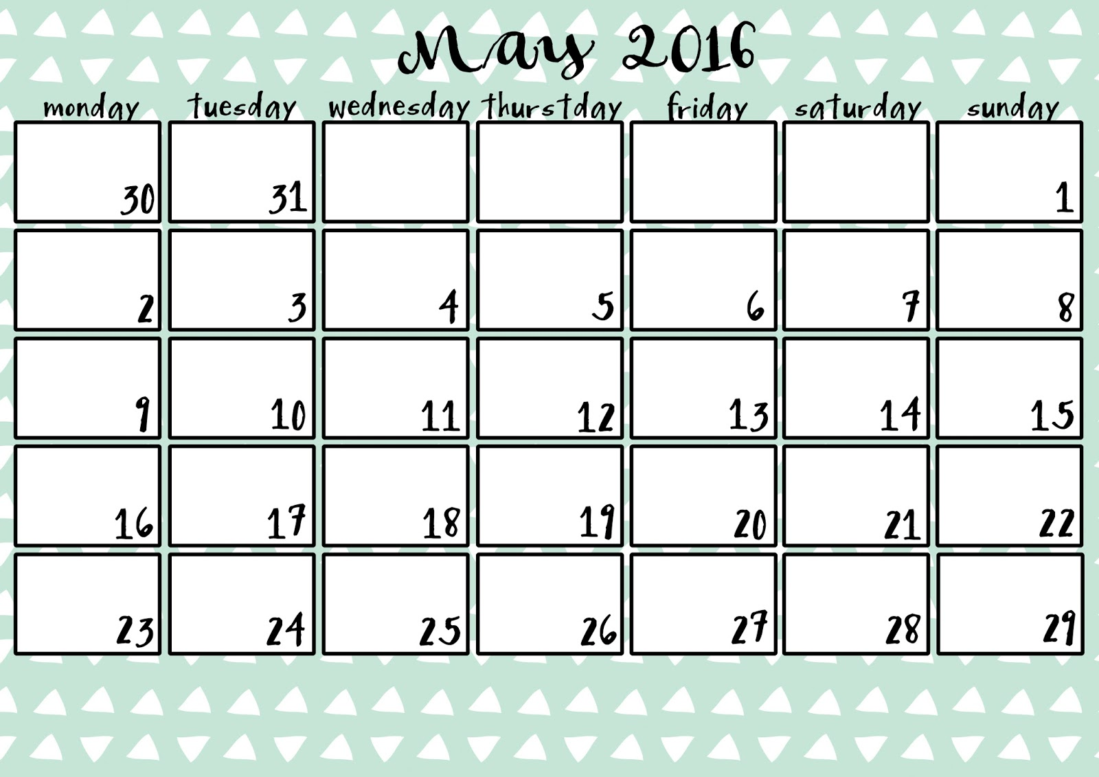 kalendar kveten 2014 Madame Coquette: kalendář na rok 2016 k vytištění kalendar kveten 2014