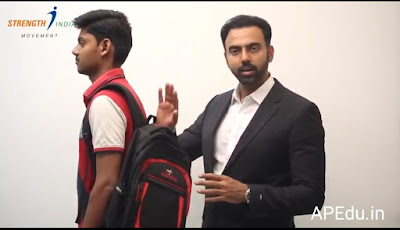 Video of an Orthopaedic Dr on....How to carry school bags..