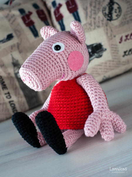 Peppa Pig Amigurumi Crochet : Lanukas: Peppa Pig de Amigurumi