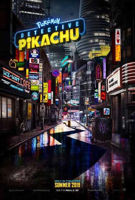 فيلم Pokémon Detective Pikachu من بطولة ريان رينولدز في دور بيكاتشو! الفيلم يبدو فاشل مع أول تريلر poster