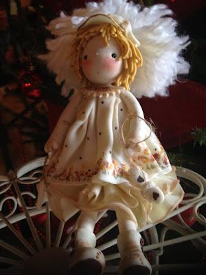 bambola porcellana bianca