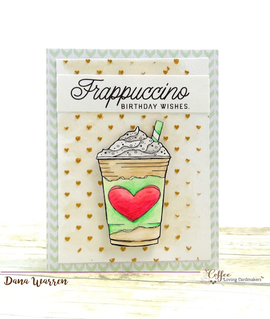 Dana Warren - Kraft Paper Stamps - Coffee Loving Cardmakers & Graciellie Designs