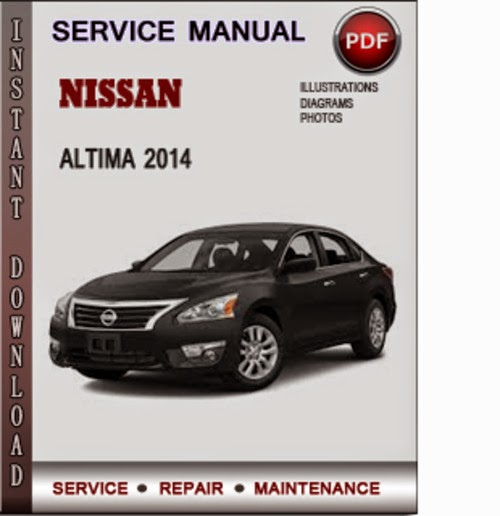 nissan altima service manual