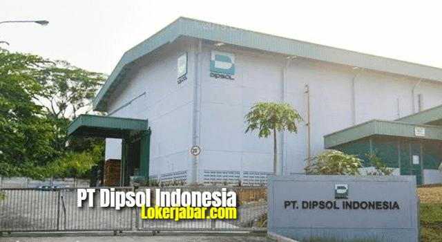 Lowongan Kerja PT Dipsol Indonesia Karawang 2021