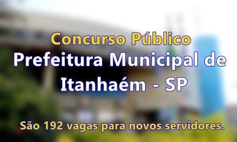 Apostila Concurso Público Prefeitura de Itanhaém (SP) 2017