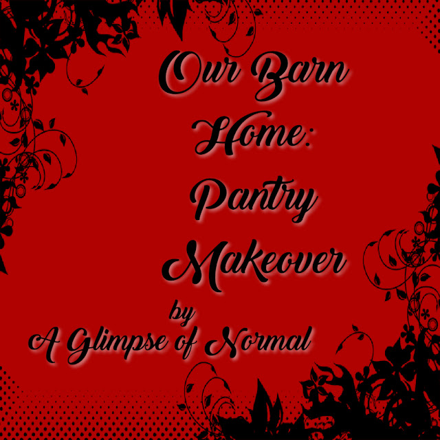 Today I am sharing the latest project in our barn over at A Glimpse of Normal.
