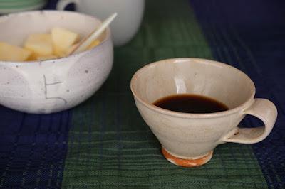生坂村の古民家カフェ ひとつ石の料理練習 珈琲