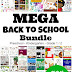 Back to School MEGA Bundle