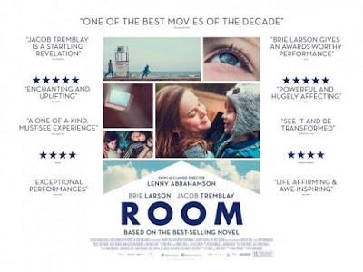 Filem Room Menang Banyak Anugerah Lakonan Brie Larson dan Jacob Tremblay sebagai watak Ibu dan Anak