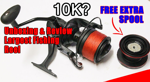 [Review] Unboxing 10000 Fishing Reel Long Casting FDDL Sougayilang