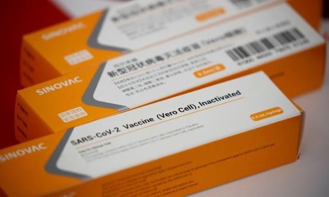 Brasil anuncia que vai comprar 46 milhões de doses da CoronaVac