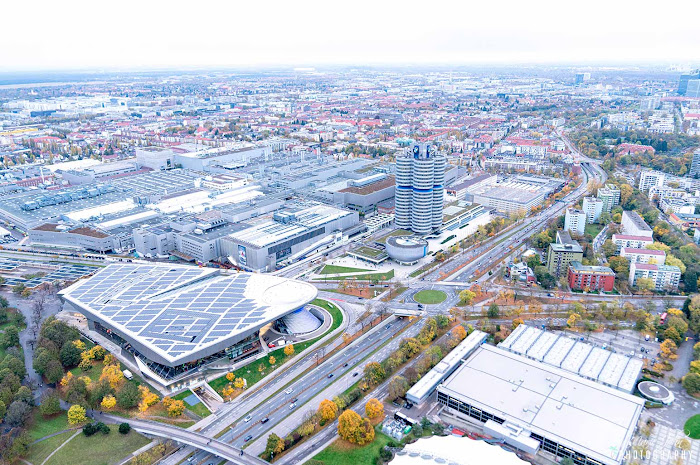 View from Olympic Tower, Munich, Germany