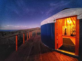 Monte Cristo Yurt, Yurts of Utah, Utah Yurts