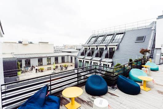 Behind the scenes of Google's new Paris office