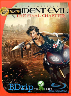 Resident Evil: Capítulo Final (2017) BDRIP [1080P] Latino [Google Drive] Panchirulo