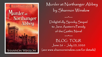 Blog Tour: Murder at Northanger Abbey by Shannon Winslow
