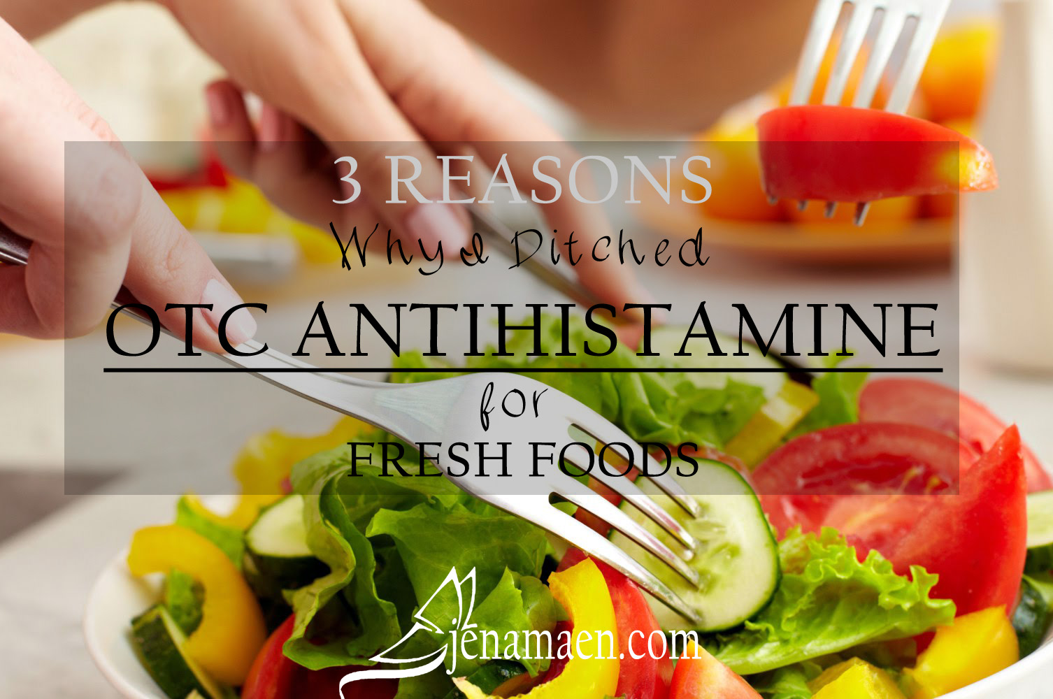 3 Reasons Why I Ditched OTC Anti-Histamines for Fresh Foods