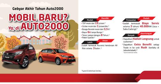 Gebyar Promo Akhir Tahun Auto2000