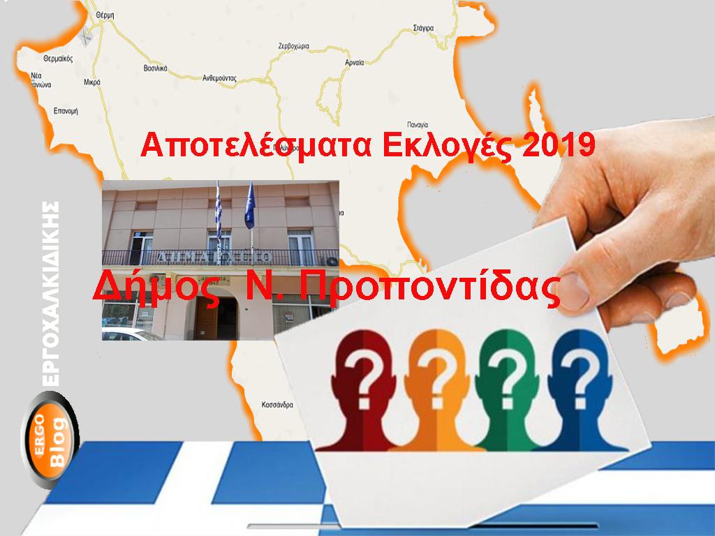 Δείτε ζωντανά τα αποτελέσματα των εκλογών στο Έργο Χαλκιδικής (Δήμος Νέα Προποντίδα) Συνεχή ροή