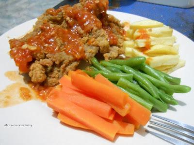 Resep dan cara membuat steak crispy