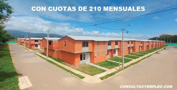 CON CUOTAS DESDE 210 MIL PESOS PROGRAMA AHORRO SOCIAL.