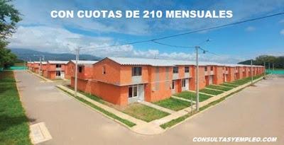 CON CUOTAS DESDE 210 MIL PESOS MENSUALES PODRAS ADQUIRIR VIVIENDA PROPIA CON EL PROGRAMA AHORRO SOCIAL.