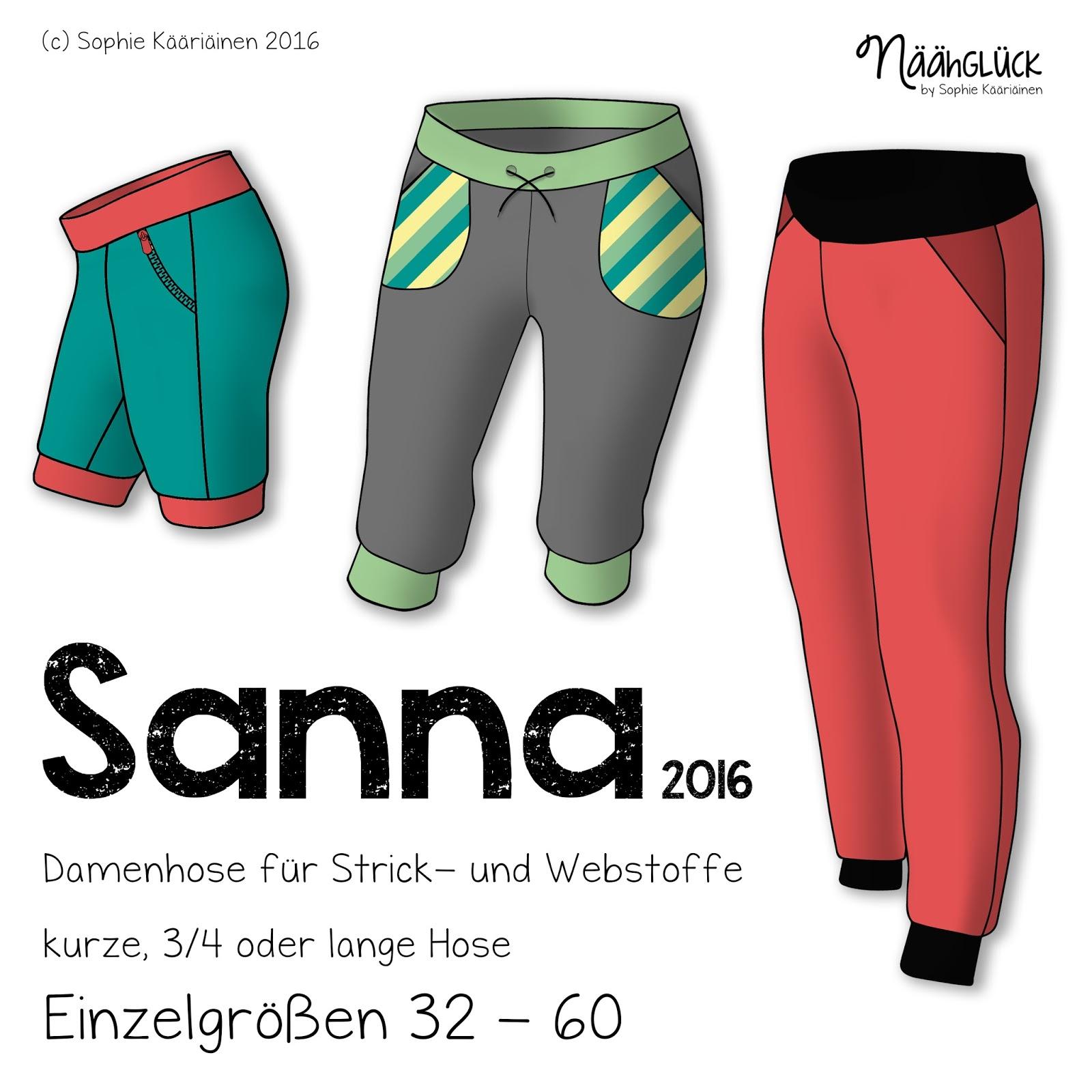 Näähglück by Sophie Kääriäinen: Sanna