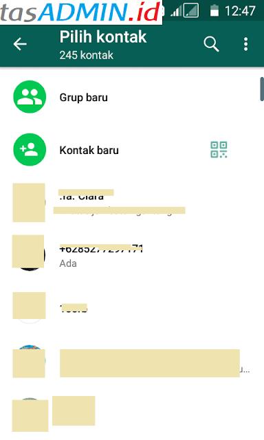 Simpan Kontak WhatsApp