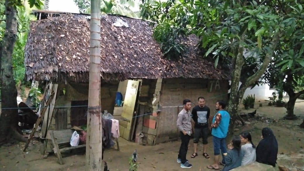 LPD ajak Lanjutkan Pembangunan Rumah Anak Yatim yang tinggal bersama Ibu,  di Gubuk Yang hampir Roboh, Lhokseumawe