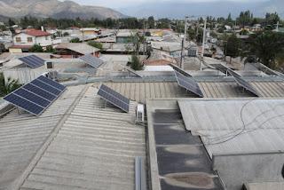 Energía: Inauguran más techos con paneles solares en Chile