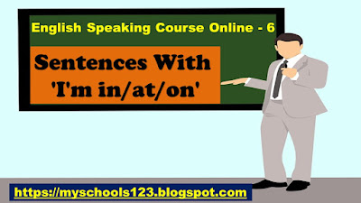 English Speaking Course Online - 7