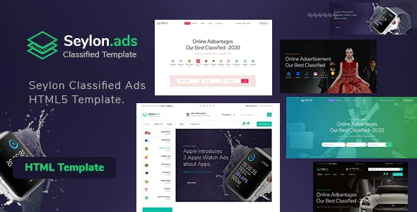 Classified Ads HTML5 Template