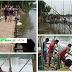 বাগমারায় সরকারি অনুদান ছাড়াই স্বেচ্ছাশ্রমে তৈরি হলো সাঁকো