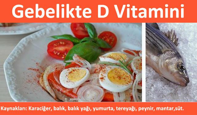 Gebelikte d vitamini