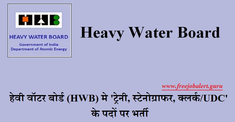 HWB Recruitment 2018