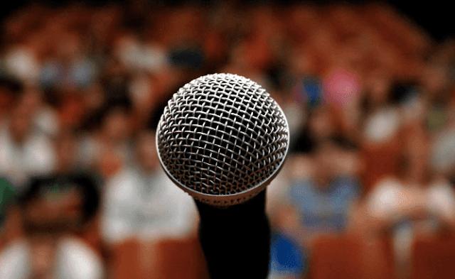 هل يمكنك التحدث أمام الجمهور ..... دراسة علمية