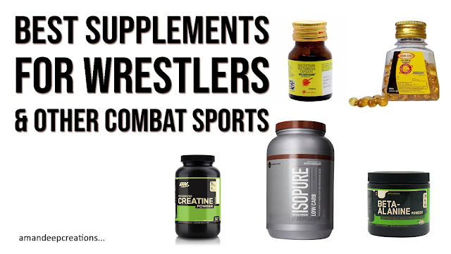 Best Supplements for Wrestlers, Boxers & Other Combat Sports Athletes