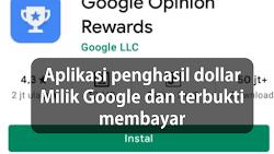 Aplikasi Penghasil Dollar Milik Google Terbukti Membayar 2021
