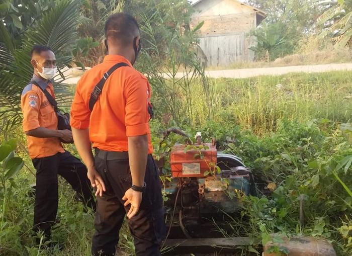 Tim BPBD Mesuji Geram, Dua Desa Memangkrakan Mesin Air RO Tanpa Dimanfaatkan