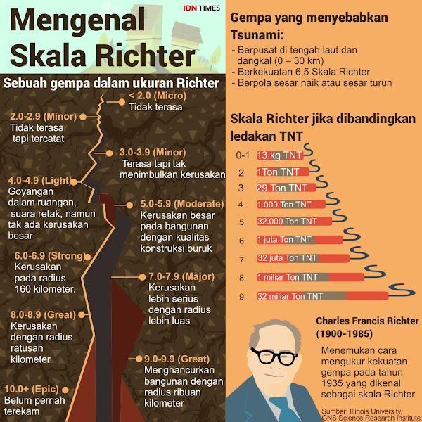 skala richter