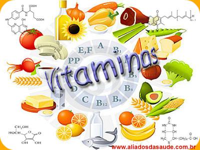 Vitaminas - As 6 vitaminas essenciais a nossa saúde
