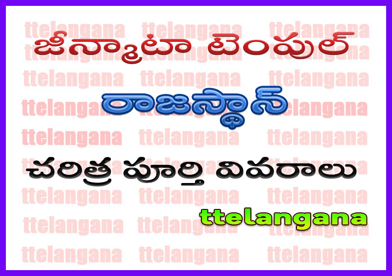 జీన్మాటా టెంపుల్ రాజస్థాన్ చరిత్ర పూర్తి వివరాలు