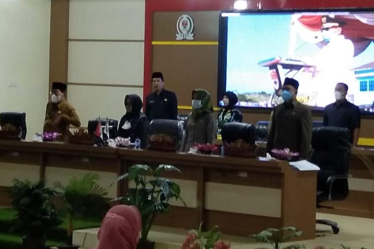 DPRD Mesuji Gelar Sidang Persetujuan Bersama Raperda Pertanggungjawaban APBD