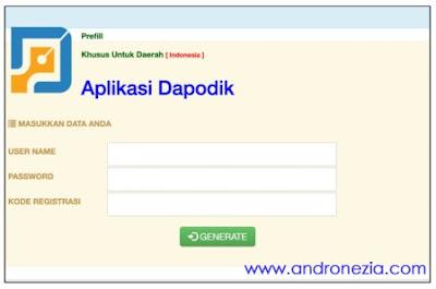 Cara Download Prefill Dapodik 2022