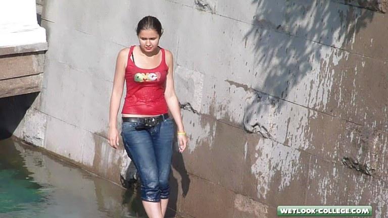 Girl wetlook