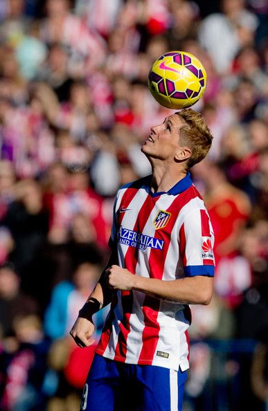 Fernando Torres on his presentation for Atlético de Madrid