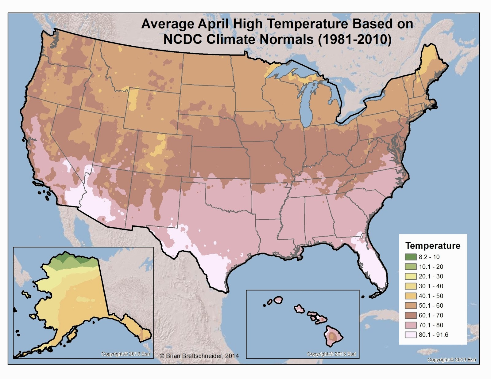 Brian Bs Climate Blog March 2014 - Average-snowfall-us-map